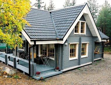 дом из сухого бруса цена