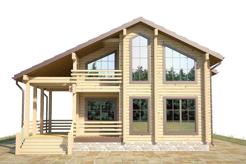 брус под строительство дома цена