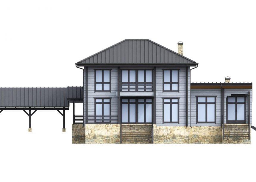 деревянные дома бруса под
