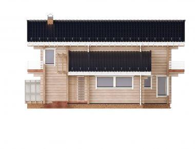 деревянный жилой дом