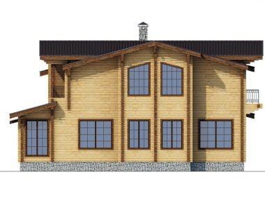клееные деревянные дома