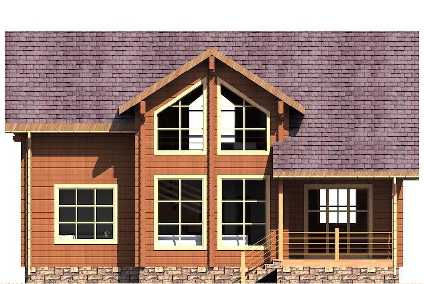 проекты деревянных домов под ключ