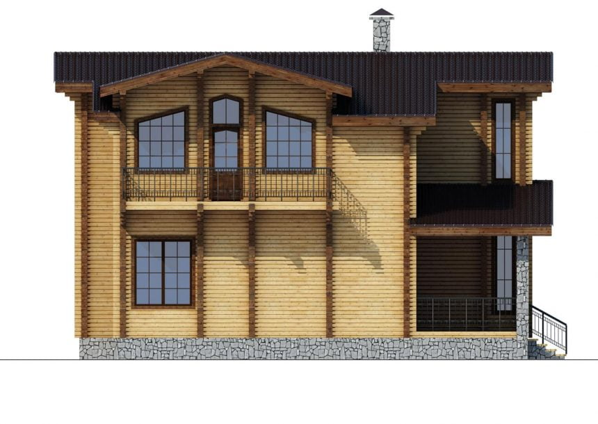 русский деревянный дом