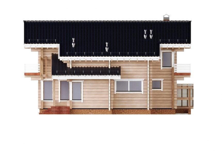 сколько стоит деревянный дом