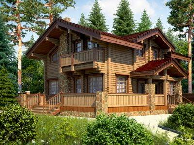 строительство деревянных домов ключ