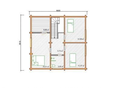деревянные дома ключ недорого