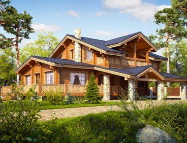 деревянные дома в подмосковье