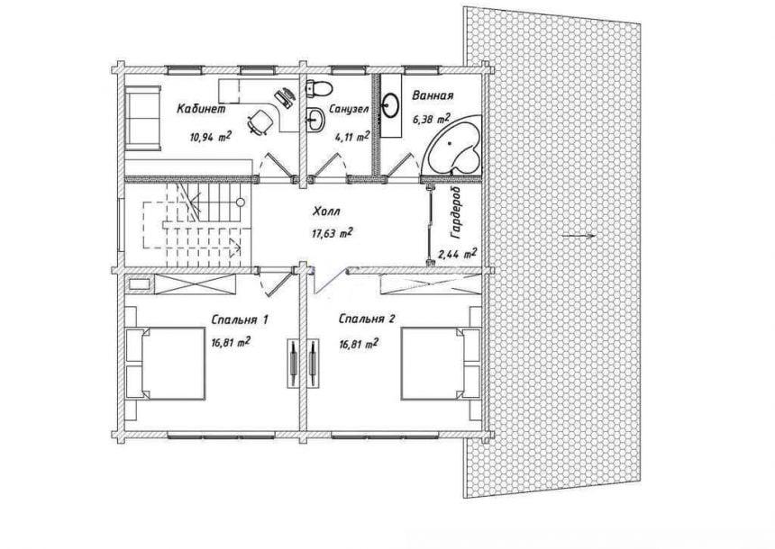 недорогие дома из бруса под ключ цена
