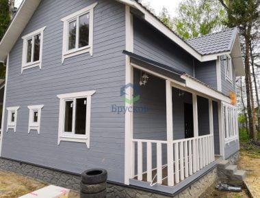 готовый дом брусовой