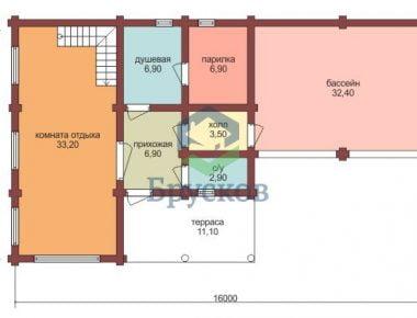 план этажа 1